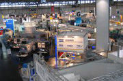 der 10. Industrie-Fachmesse INTEC